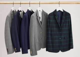 Shirt And Tie Combinations Using A Patterned Shirt