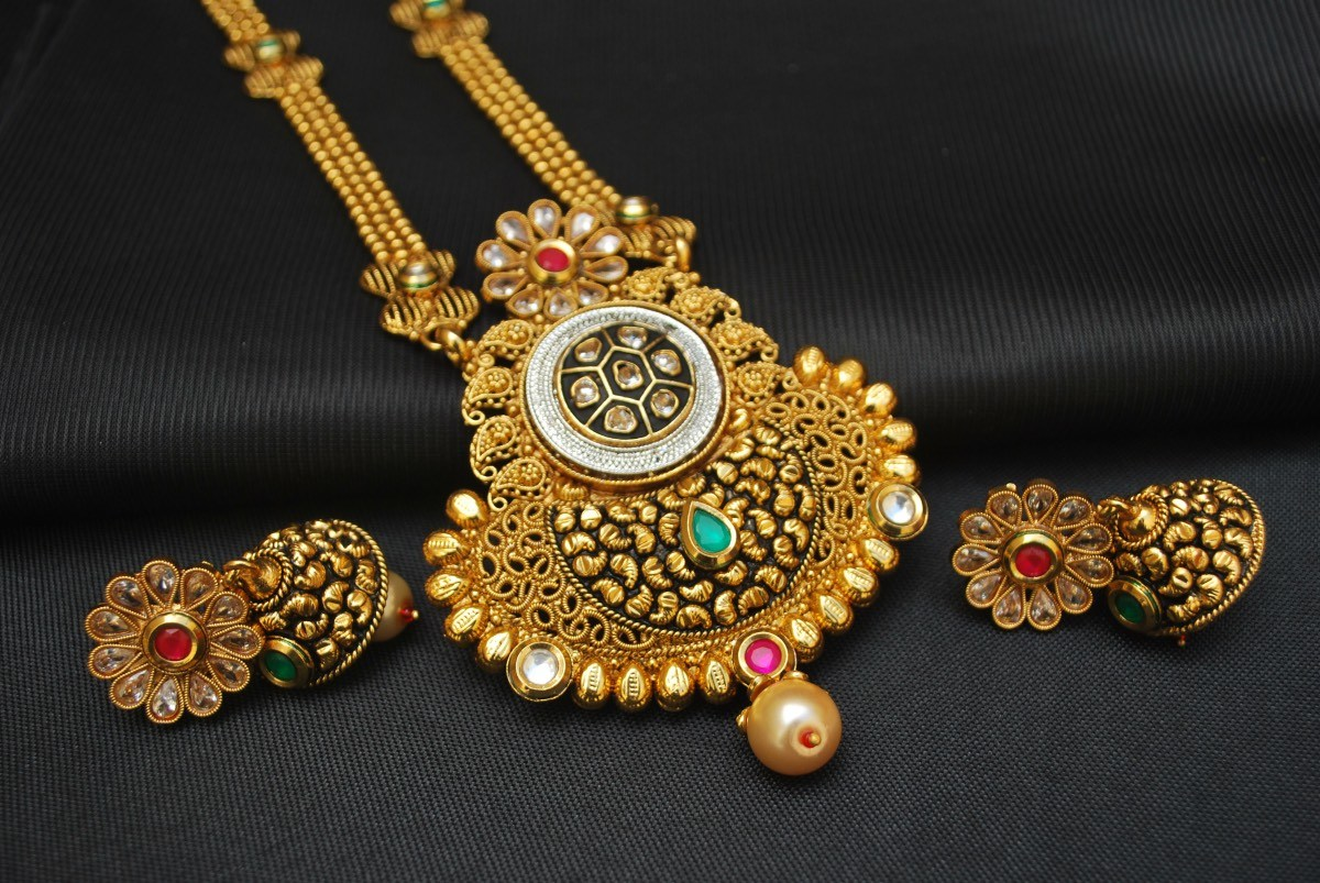 Stunning Handmade Rajasthani Necklace